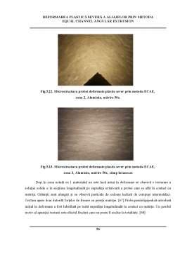 Disertație - Deformarea plastică severă a aliajelor prin metoda equal channel angular extrusion