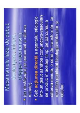 Curs - Fiziopatologia inflamației