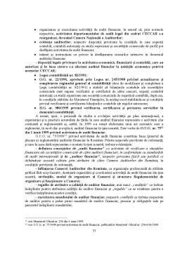 Disertație - Probele în auditul financiar