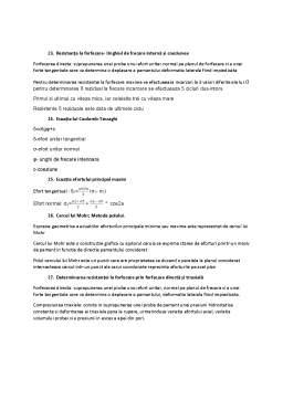 Notiță - Subiecte rezolvate - Geotehnică
