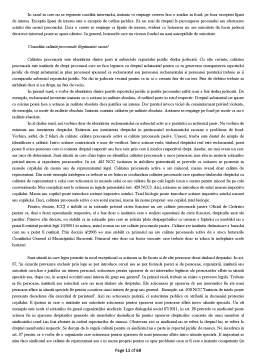 Curs - Drept Procesual Civil I