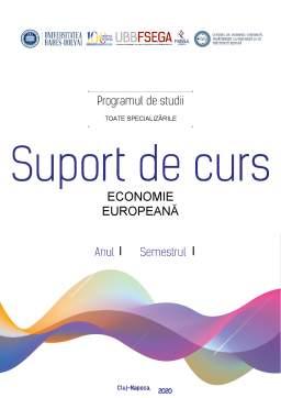 Curs - Economie Europeană - Suport de Curs