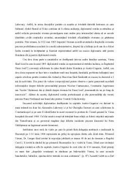 Referat - Prezentare de carte - Alexandru Emanoil Lahovary - Amintiri diplomatice