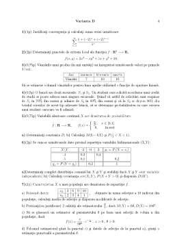 Seminar - Examen Matematică