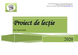 Proiect - Proiect de lecție înmulțirea fracțiilor zecimale