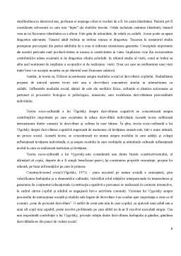 Proiect - Psihologia Dezvoltării
