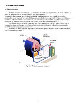 Proiect - Proiectarea unui sistem de reglare automată a turației unui motor de curent continuu (MCC) utilizând regulatoare convenționale (PID)
