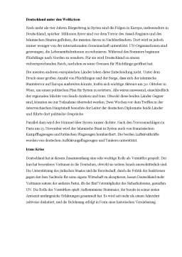 Referat - Die Aussenpolitik der Bundesrepublik Deutschland
