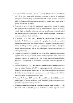 Referat - Activitatea social-filantropica din cadrul Centrului socio-cultural Episcopul Damaschin - Slobozia
