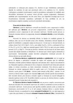 Referat - Profilul de sol și principalele sale caracteristici
