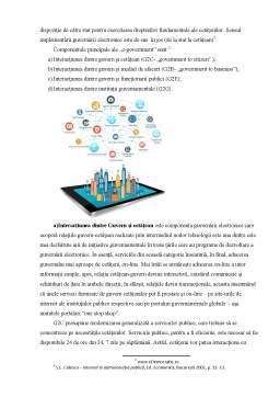 Proiect - Marketingul On-line în administrația publică - Utilizarea internetului în administrația publică