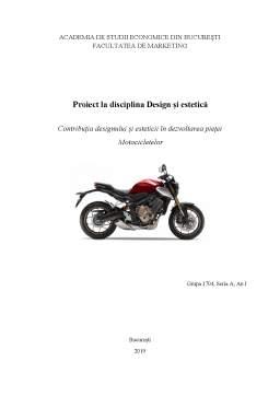 Proiect - Contribuția designului și esteticii pe piața motocicletelor