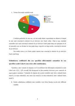 Proiect - Studiu privind comportamentul de viață, cumpărare și consum