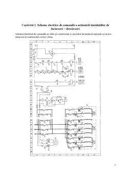 Proiect - Acționarea electrică a instalațiilor de încărcare - descărcare