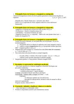 Curs - Subiecte examen - Radiologie-imagistica medicala 2020