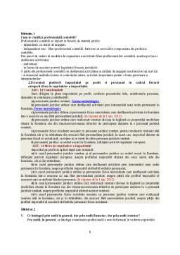 Notiță - Întrebări examen final CECCAR