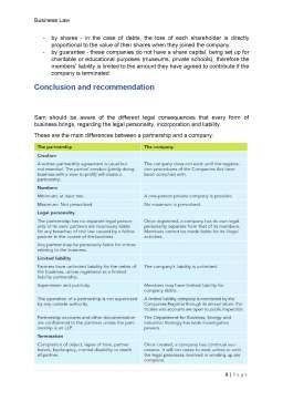 Referat - Business organisations