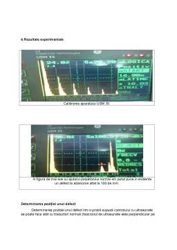 Proiect - Controlul cu ultrasunete al volantelor auto