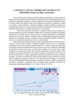 Proiect - Integrarea monetară europeană și piețele imobiliare. Impactul monedei euro asupra piețelor imobiliare