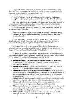 Referat - Principii și standarde privind protecția victimelor