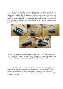 Proiect - Bionic Dynamic Center - Dezvoltarea unei mâini prostetice mioelectrice la preț redus