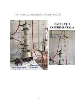 Laborator - Bilanț de materiale în regim staționar la operația de rectificare