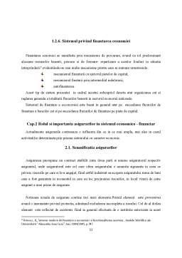 Proiect - Rolul asigurărilor în sistemul economico-financiar modern