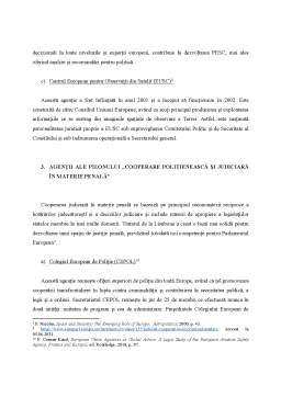Referat - Agențiile Uniunii Europene