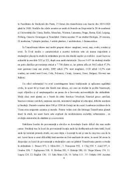 Referat - Studenți din Transilvania și Universitățile din străinătate 1849-1919