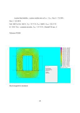 Proiect - Contactor tripolar cu comutație în vid
