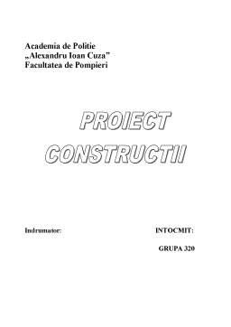 Proiect - Proiect Casa de Locuit