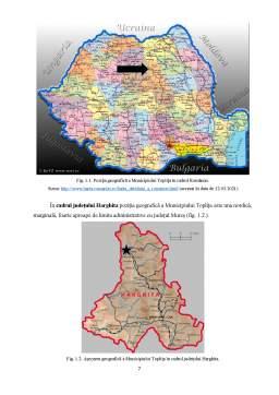 Licență - Potențialul turistic și perspective de dezvoltare ale Municipiului Toplița