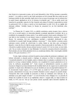 Referat - Colectivizarea în România