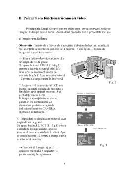 Proiect - Analiza Camerei de Filmat JVC GR-D340EG