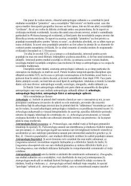 Referat - De la Studiul Genului Homo la Antropologie Culturala