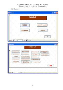 Proiect - Evidenta Salariatilor - Access