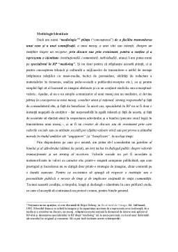Curs - Relațiile Publice - Un Marketing al Adevărului și al Binelui