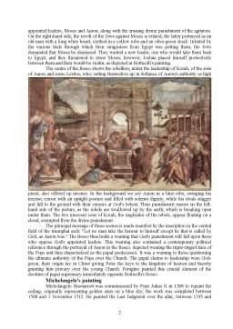 Referat - The Sistine Chapel