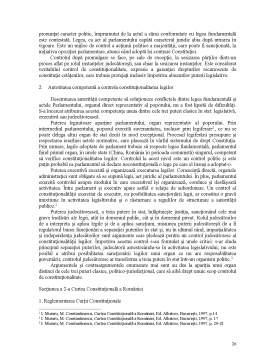 Curs - Suport de Curs la Drept Constitutional si Institutii Politice - Semestrul II