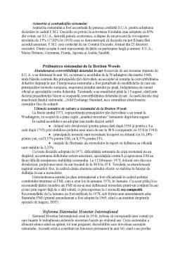 Referat - Sistemul Monetar International