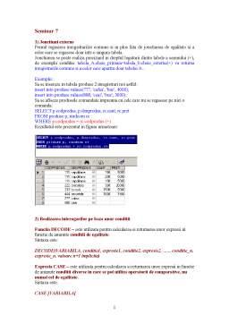 Curs - Sisteme de Gestiune a Bazelor de Date - 7