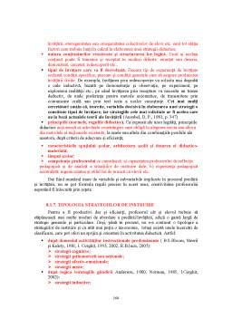 Curs - Teoria și Metodologia Instruirii