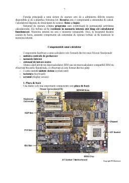 Curs - Calculatorul