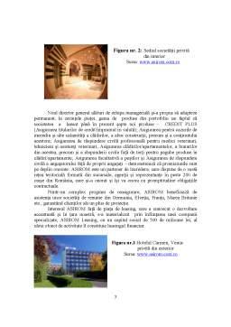 Proiect - Prezentarea Societatii de Asigurare Asirom SA