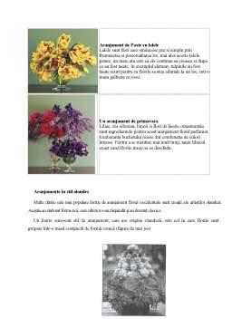 Referat - Aranjamente Florale Occidentale Clasice