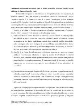 Seminar - Tratamentul Socio-juridic al Copiilor Care au Comis Infracțiuni