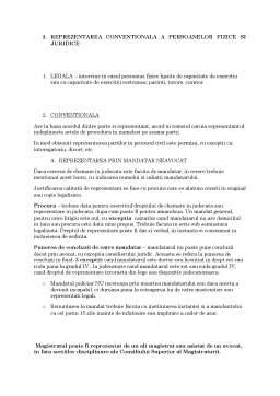 Curs - Participantii in Procesul Civil