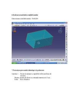 Proiect - Proiectare Asistata Tehnologic