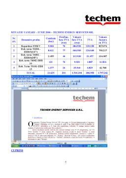 Proiect - Proiect Birotica - TECHEM Eenergy Services SRL