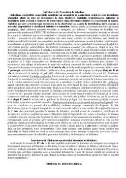 Notiță - Dreptul Afacerilor - Intrebari pentru Examen